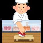 日本食の板前と経営者