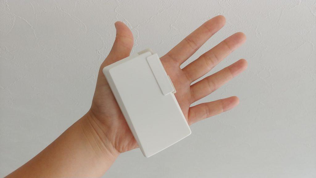 定期券サイズの製品(プラスチック筺体)の画像
