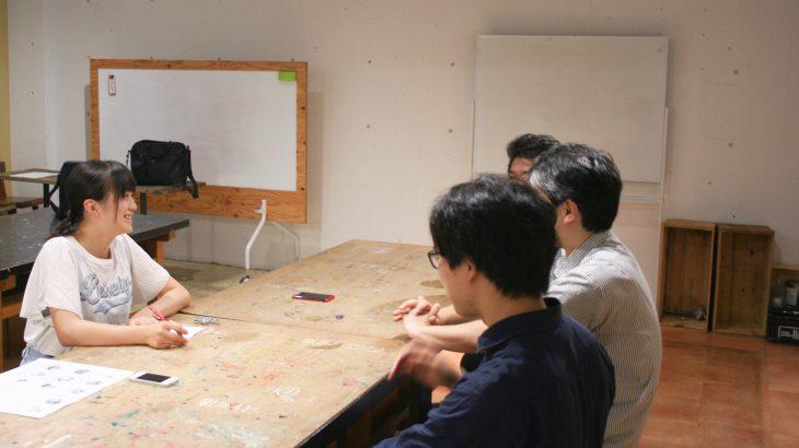 テクノラボにインターンシップの大学生がやってきた!①